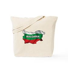 Map Of Bulgaria Tote Bag