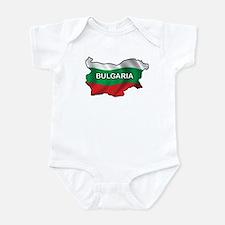 Map Of Bulgaria Infant Bodysuit