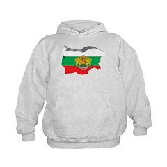 3D Map Of Bulgaria Hoodie