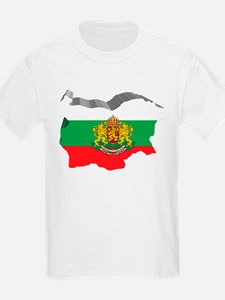 3D Map Of Bulgaria T-Shirt