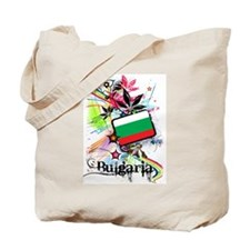 Flower Bulgaria Tote Bag