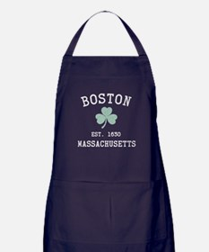 Boston Massachusetts Apron (dark)