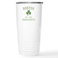 Boston Massachusetts Travel Mug