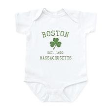 Boston Massachusetts Infant Bodysuit