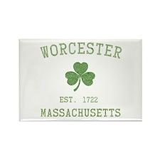 Worcester Massachusetts Rectangle Magnet