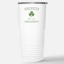 Worcester Massachusetts Stainless Steel Travel Mug