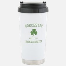 Worcester Massachusetts Travel Mug