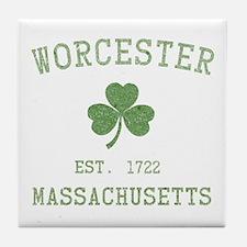 Worcester Massachusetts Tile Coaster