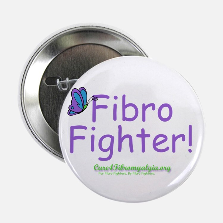 """Fibro Fighter 2.25"""" Button"""