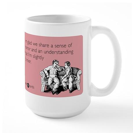Slightly Funnier Large Mug
