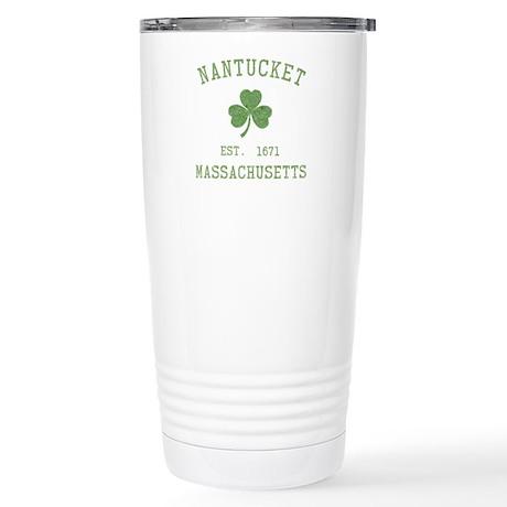 Nantucket Stainless Steel Travel Mug