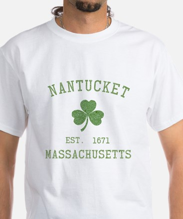 Nantucket White T-Shirt