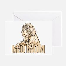 Neo Mom Tawny UC Greeting Card