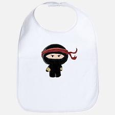 Cute Ninja Bib