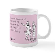 Disappeared Hiking Small Mug