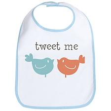Tweet Me Birds Bib