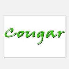 Cougar Green Postcards (Package of 8)