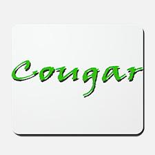 Cougar Green Mousepad
