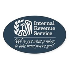IRS Satire Decal
