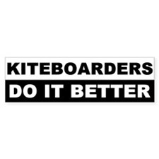 KITEBOARDING BUMPER STICKERS