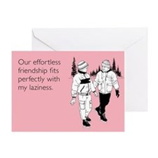 Effortless Friendship Greeting Card