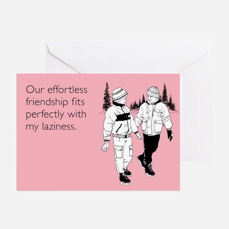 Effortless Friendship Greeting Card