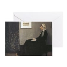 Whistler's Mother Greeting Card