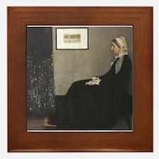 Whistler's Mother Framed Tile