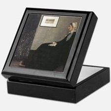 Whistler's Mother Keepsake Box