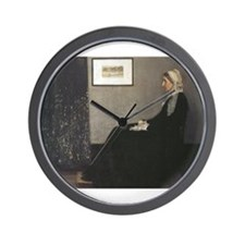 Whistler's Mother Wall Clock