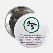 """The Tao of the Tree 2.25"""" Button"""