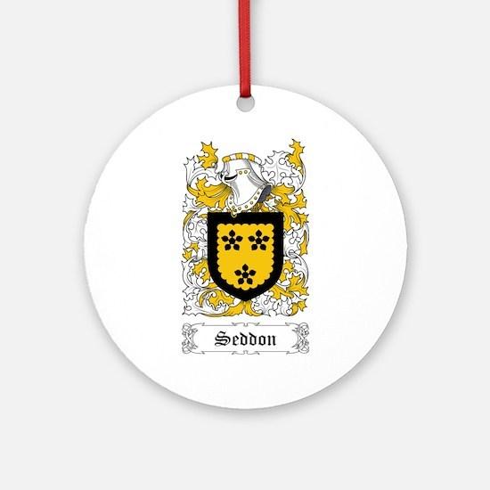 Seddon Ornament (Round)
