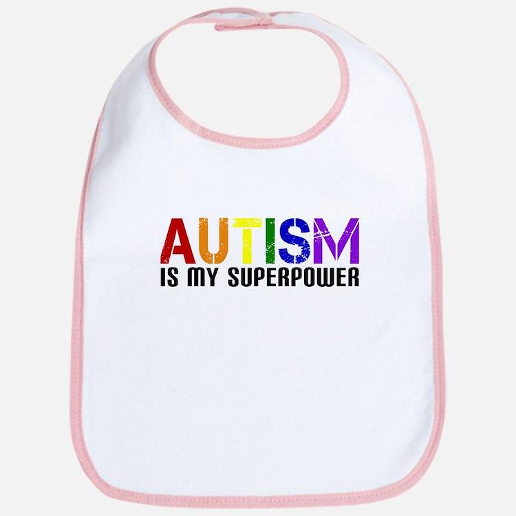 Autism is My Superpower Bib