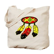 Mandela & 3 Feathers Tote Bag