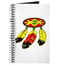 Mandela & 3 Feathers Journal