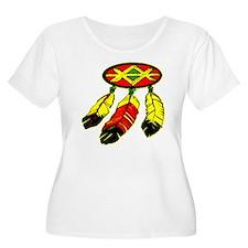 Mandela & 3 Feathers T-Shirt