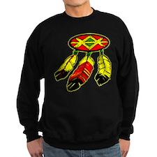 Mandela & 3 Feathers Sweatshirt