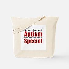 Look Beyond Autism Tote Bag