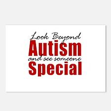 Look Beyond Autism Postcards (Package of 8)