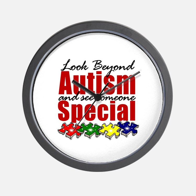 Look Beyond Autism2 Wall Clock