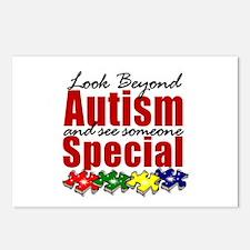 Look Beyond Autism2 Postcards (Package of 8)