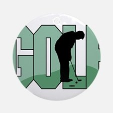 GOLF *1* Ornament (Round)
