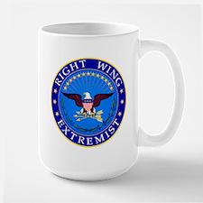 """Right Wing Extremist"" Mug"