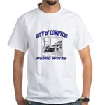 Compton Public Works White T-Shirt