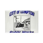 Compton Public Works Rectangle Magnet