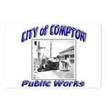 Compton Public Works Postcards (Package of 8)
