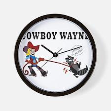 Cute Wayne Wall Clock