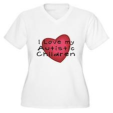 I Love My Autistic Children T-Shirt