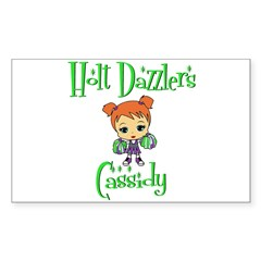 Holt Dazzlers Cassidy Sticker (Rectangle)