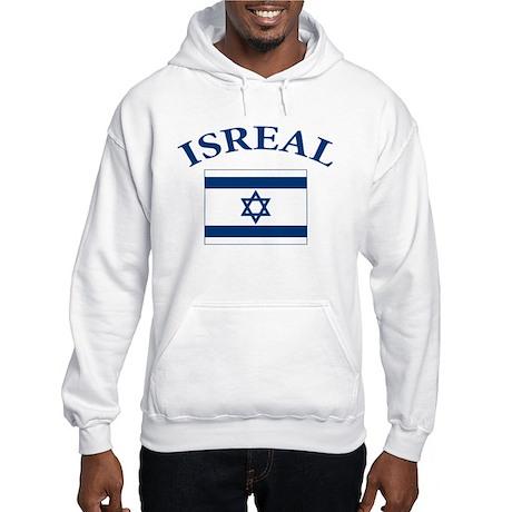 I love Isreal Hooded Sweatshirt